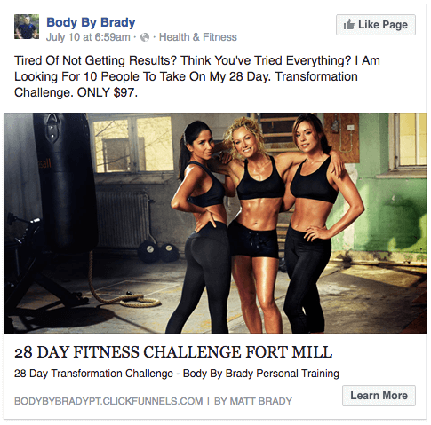 Body By Brad - 28 Day Challenge