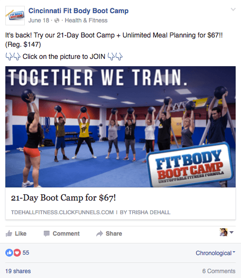 Cincinati Fitness Boot Camp - 21 Day