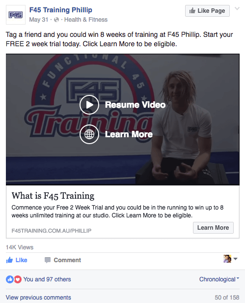 F45 Training Phillip - Friend Contest