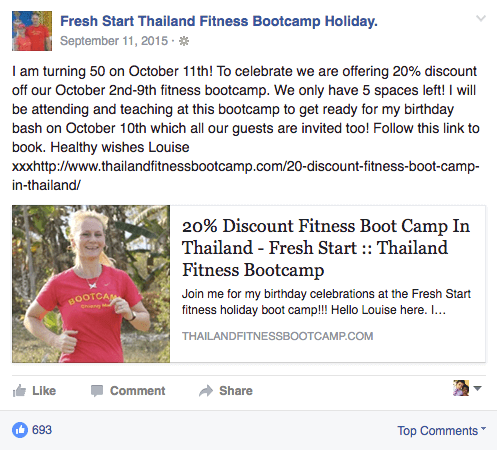 Fresh Start Thailand - Fitness Retreat