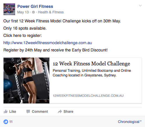 Power Girl Fitness - 12 Week Model